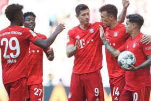 تشكيل مباراة بايرن ميونخ وإينتراخت فرانكفورت في الدوري الألماني