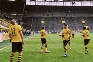 تشكيل مباراة بوروسيا دورتموند وفولفسبورج في الدوري الألماني