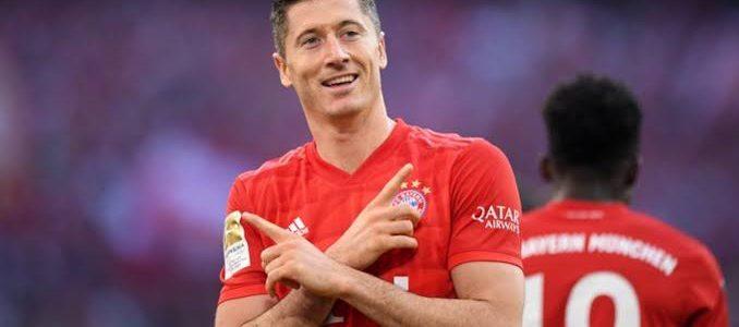 ليفاندوفسكى يستعد لتحقيق رقم قياسي جديد في الدوري الألماني