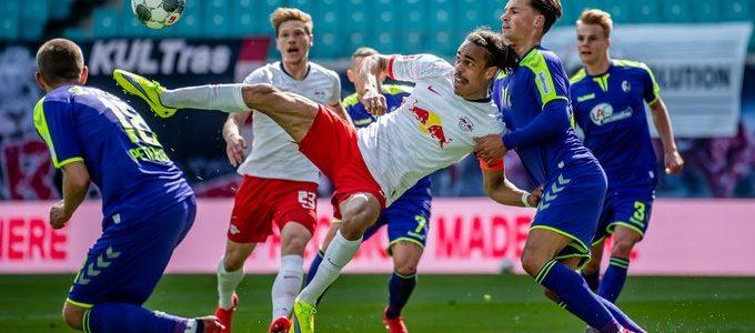 لايبزيج يقع في فخ التعادل أمام فرايبورج الدوري الألماني