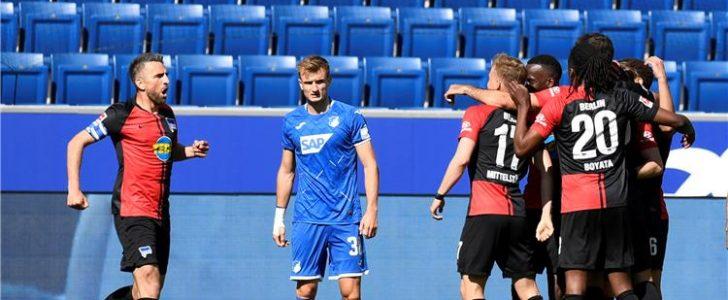 نتيجة الشوط الأول مباراة هيرتا برلين ويونيون برلين في الدوري الألماني