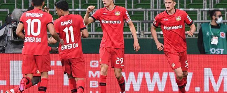 نتيجة مباراة فيردر بريمن وباير ليفركوزن في الدوري الألماني