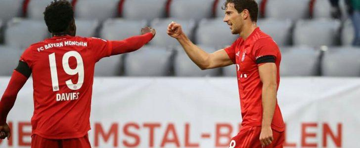 نتيجة الشوط الأول من مباراة بايرن ميونخ وإينتراخت فرانكفورت في الدوري الألماني