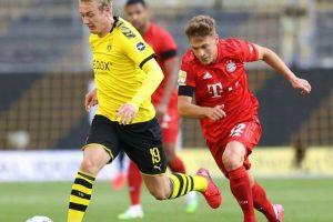 نتيجة الشوط الأول مباراة بايرن ميونخ وبوروسيا دورتموند في الدوري الألماني