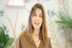"""نانسى عجرم تدعو متبعيها لحفل غنائى""""لايف فيديو"""" بمناسبة عيد الفطر المبارك"""