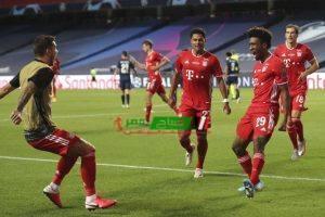 أهداف مباراة بايرن ميونخ وباريس سان جيرمان نهائى دوري أبطال أوروبا 2020